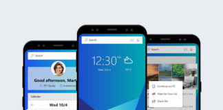 Microsoft Launcher smartphone Android