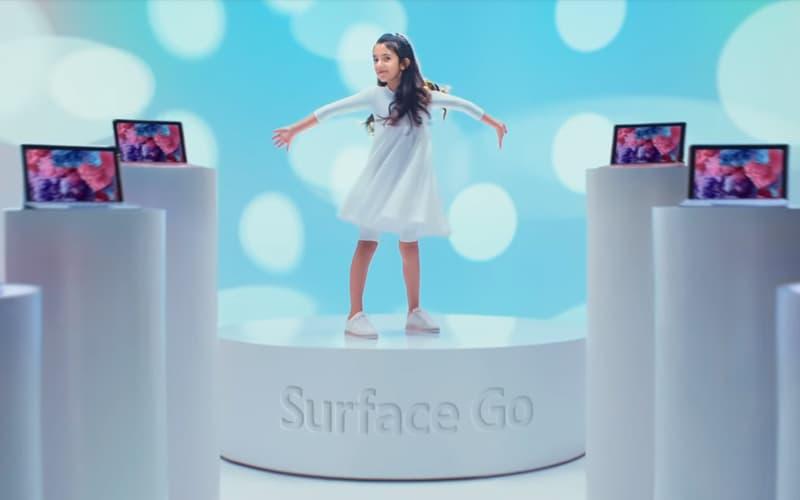 Apple iPad Microsoft Surface Go