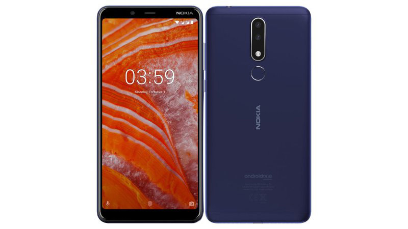 Nokia 3.1 Plus Android One Portugal