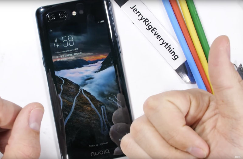 Nubia X smartphone Android Jerry Rig Jerry Rig Everything