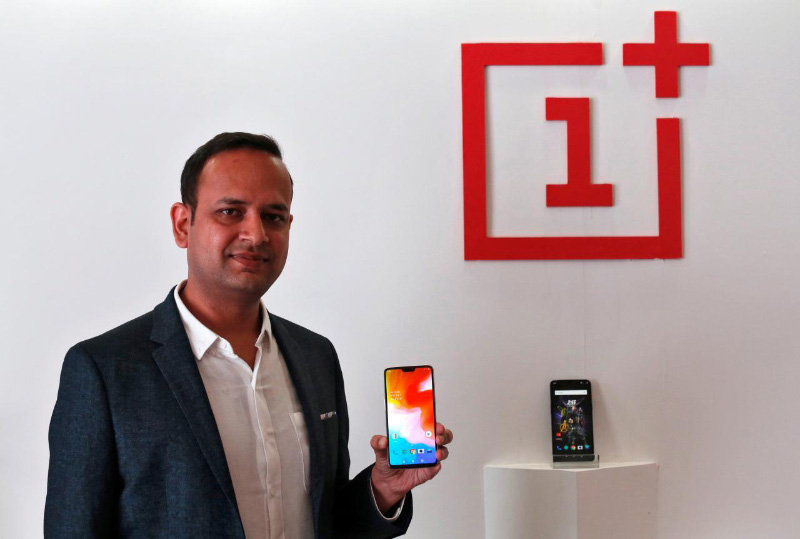 OnePlus 6 Android Pie Índia oficial reuters mercado Índia smartphones