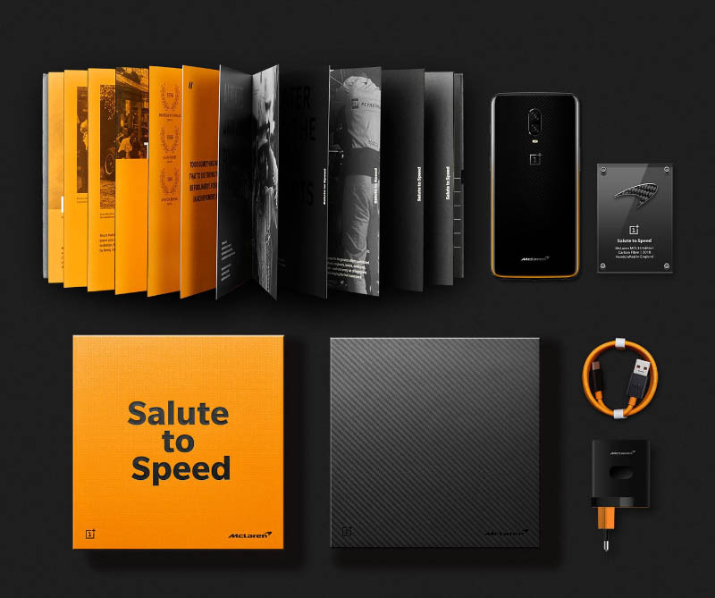 OnePlus 6T McLaren Edition smartphone Android oficial Warp Charge