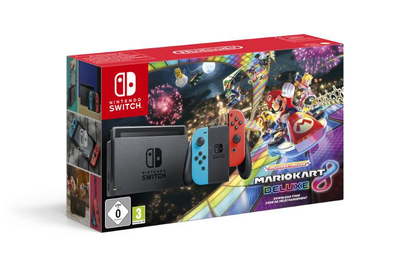Pack Nintendo Switch Mario Kart 8 Deluxe