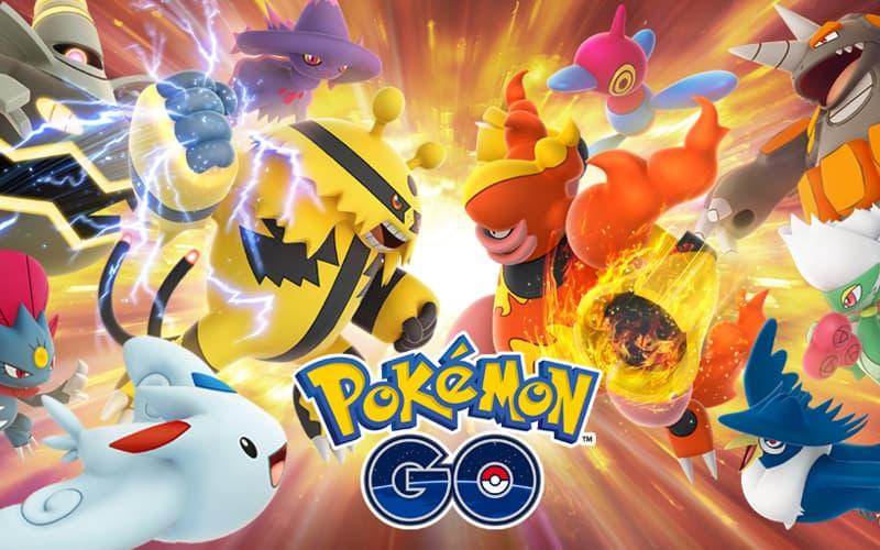 Pokemon Go batalhas de treinadores