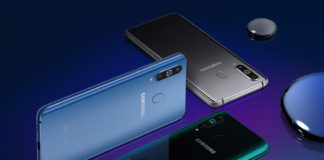 Samsung Galaxy A8s smartphone Android 3
