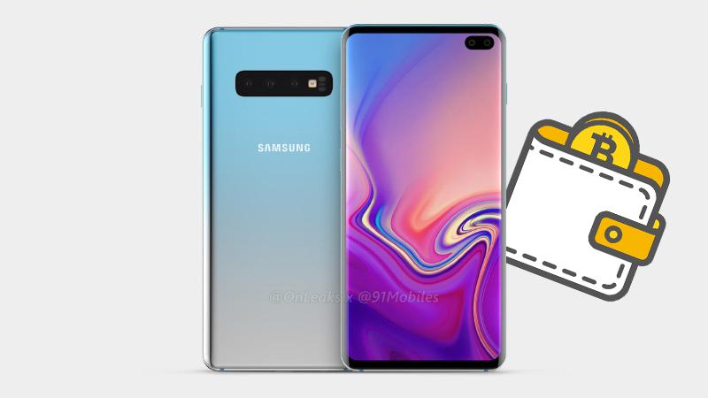 Samsung Galaxy S10 poderá trazer duas carteiras para Bitcoin