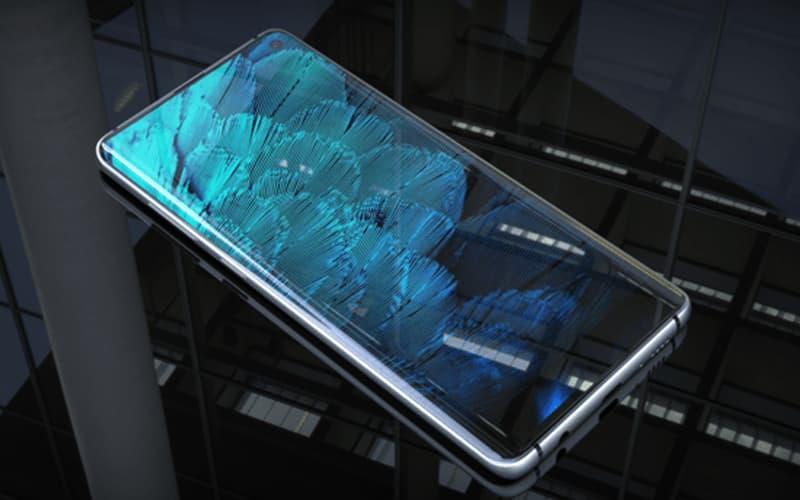 Samsung Galaxy S10 Plus render smartphone