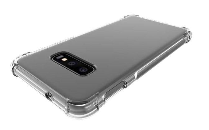 Samsung Galaxy S10 Lite design