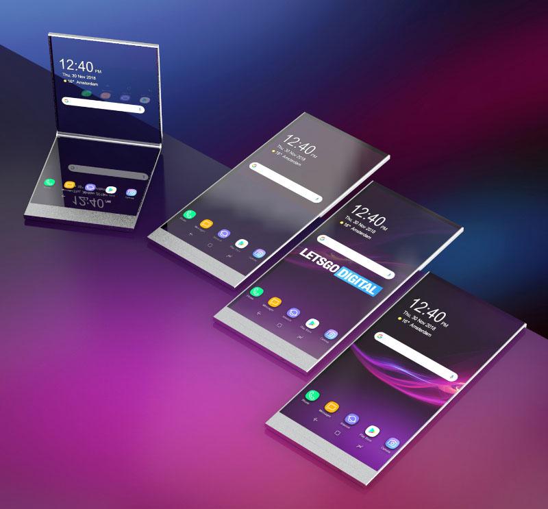 Sony Xperia smartphone dobrável Android 2