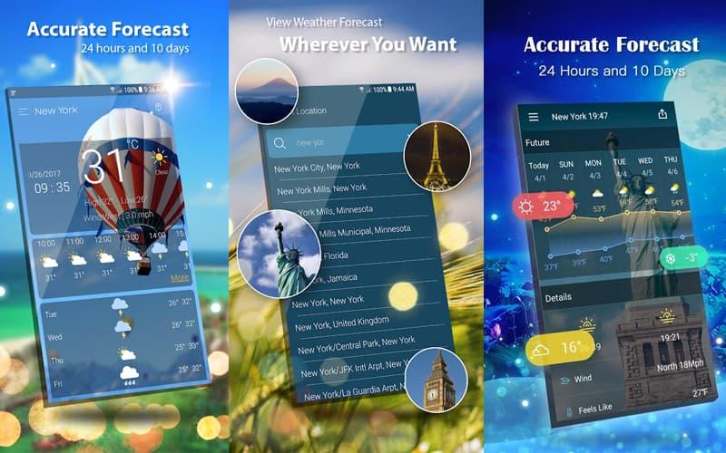 Weather Forecast Pro Aplicação Android