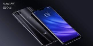 Xiaomi Mi 8 Lite Android smartphone