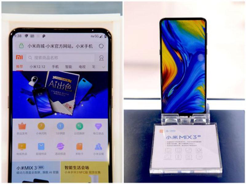 Xiaomi Mi MIX 3 Europa 5G Snapdragon 855