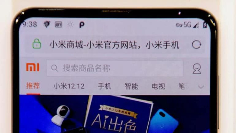 Xiaomi Mi MIX 3 smartphone Android 5G Snapdragon 855 Europa