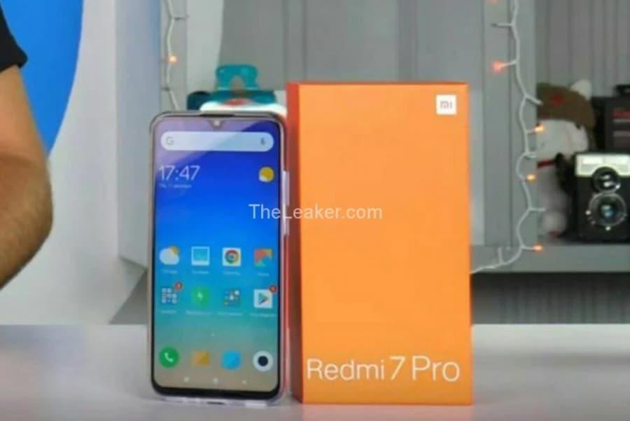 Xiaomi Redmi 7 Pro tonalidade gradiente