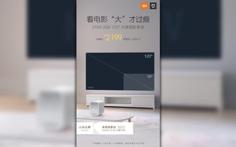 Xiaomi mini Projetor 2019