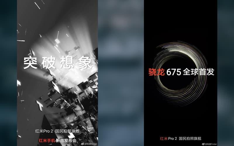 Xiaomi Redmi Pro 2 48 megapixels câmara