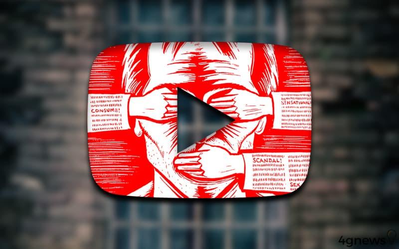 YouTube vídeos apagados