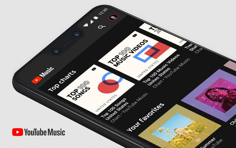 YouTube Music Spotify TOP