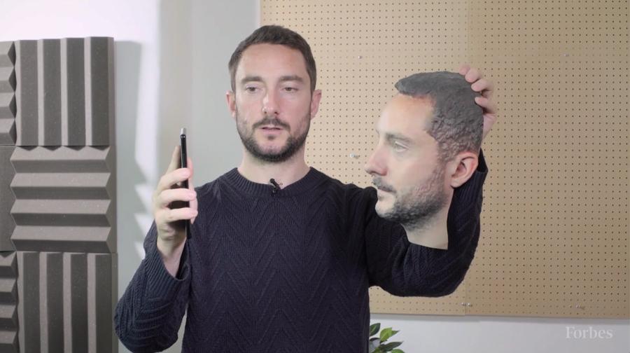 Reconhecimento Facial do Android enganado por cabeça impressa em 3D smartphones