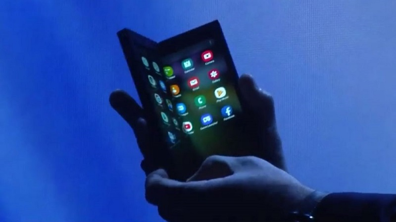 Samsung Galaxy F smartphone
