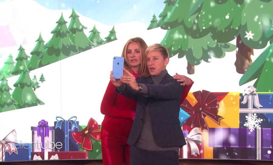 Apple oferece um iPhone Xr a todas as pessoas no The Ellen Show