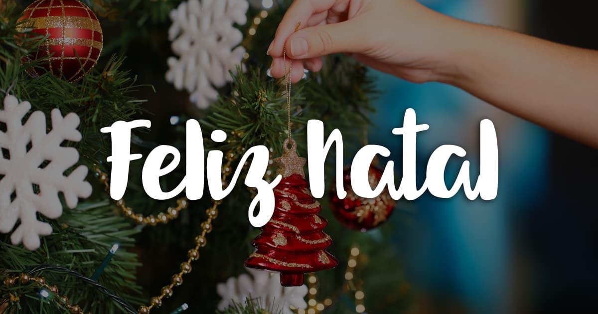 Feliz Natal! Aproveita os momentos com as pessoas que mais gostas