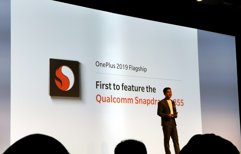 OnePlus smartphone Snapdragon 855