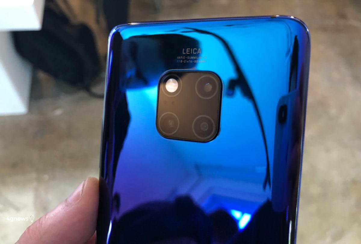 Huawei Mate 20 Pro já tem (finalmente) concorrente na câmara fotográfica