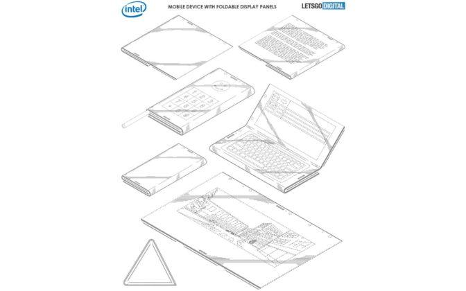 Intel Smartphone Dobrável