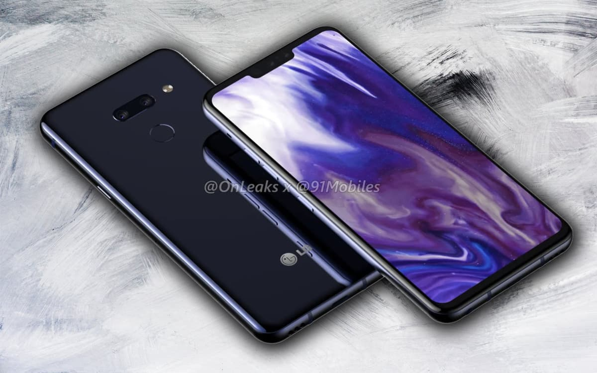 LG G8 imagens smartphone Android