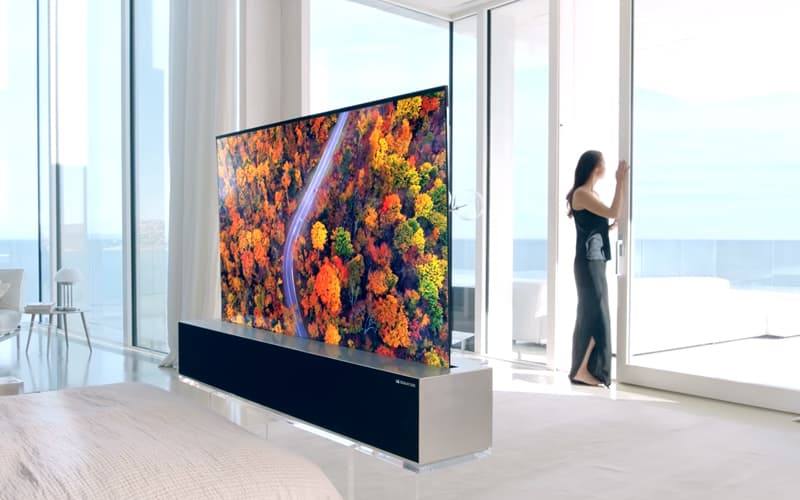 LG Smart TV rolável