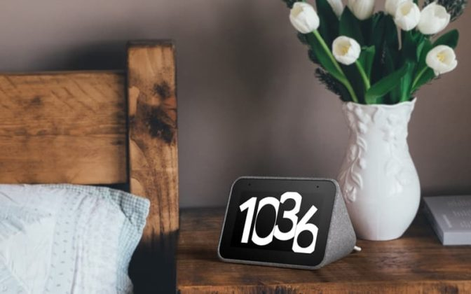 Lenovo Smart Clock Relógio Google