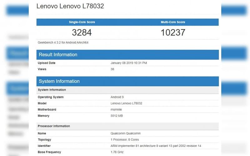 Lenovo Z5 Pro GT Snapdragon 855 iPhone