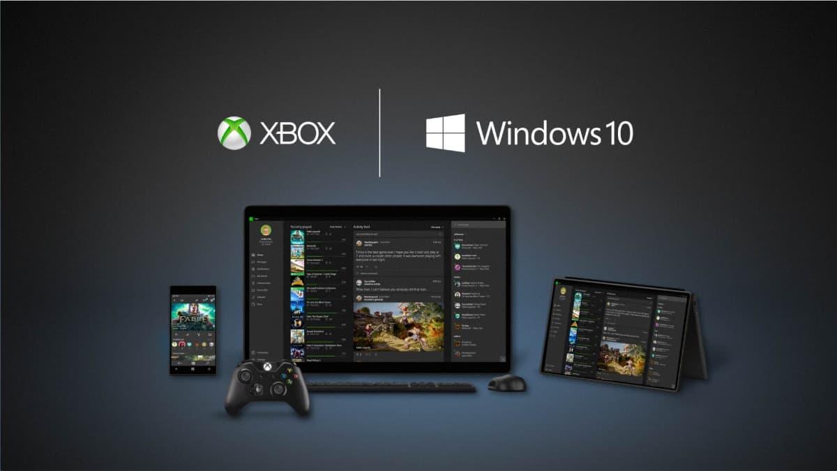 Microsoft Windows 10 Gaming Xbox