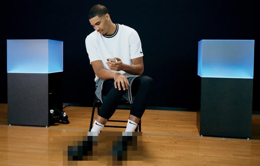 Nike prepara sapatilhas que apertam os atacadores com o smartphone