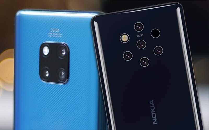 Nokia 9 PureView Huawei Mate 20 Pro