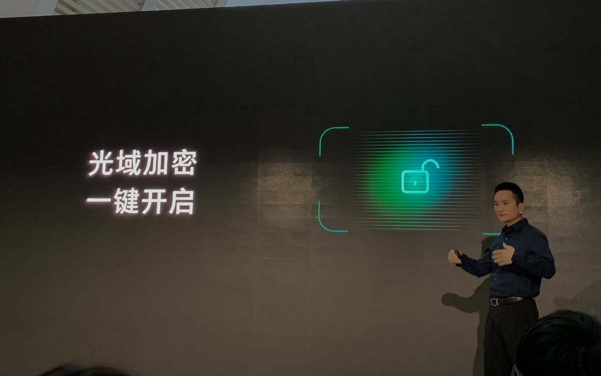 Oppo Sensor biometrico xiaomi