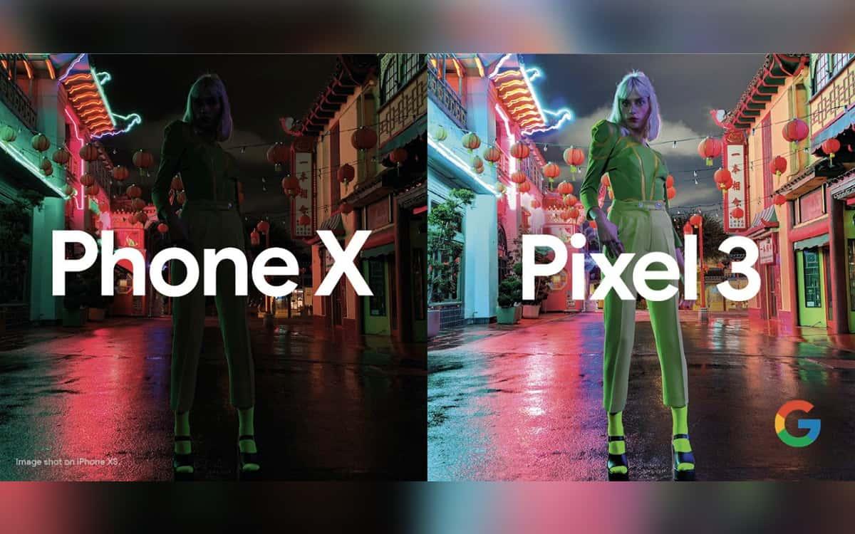 Google Pixel 3 Apple iPhone XS