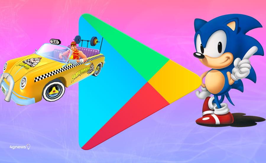 Google Play Store: Jogos clássicos da SEGA grátis no teu smartphone