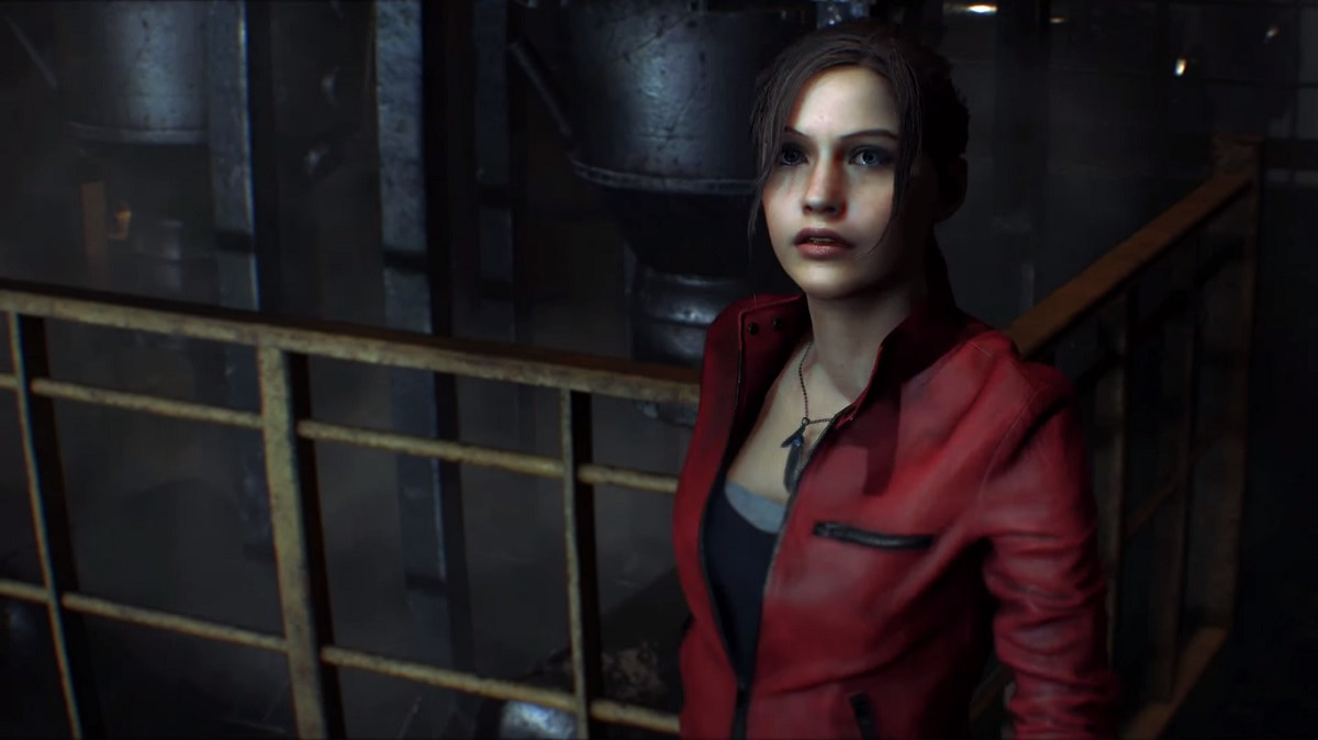 Claire Redfield, co-protagonista no jogo Resident Evil 2