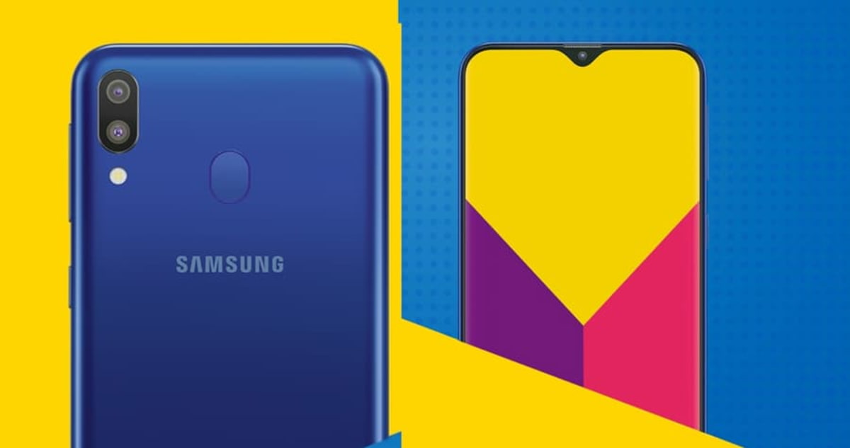 Samsung Galaxy M Android Pie