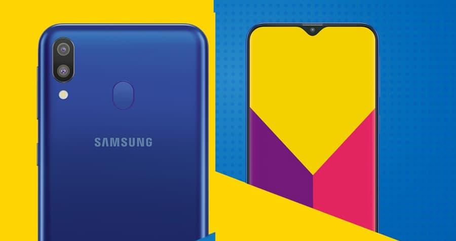 Samsung Galaxy M20: Todas as especificações do telemóvel com notch