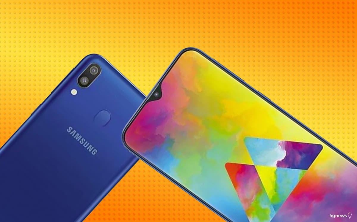 Samsung Galaxy M10 e M20 oficiais! Os primeiros Samsung com notch