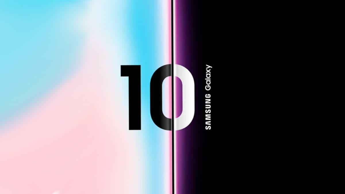 Samsung Galaxy S10 teste