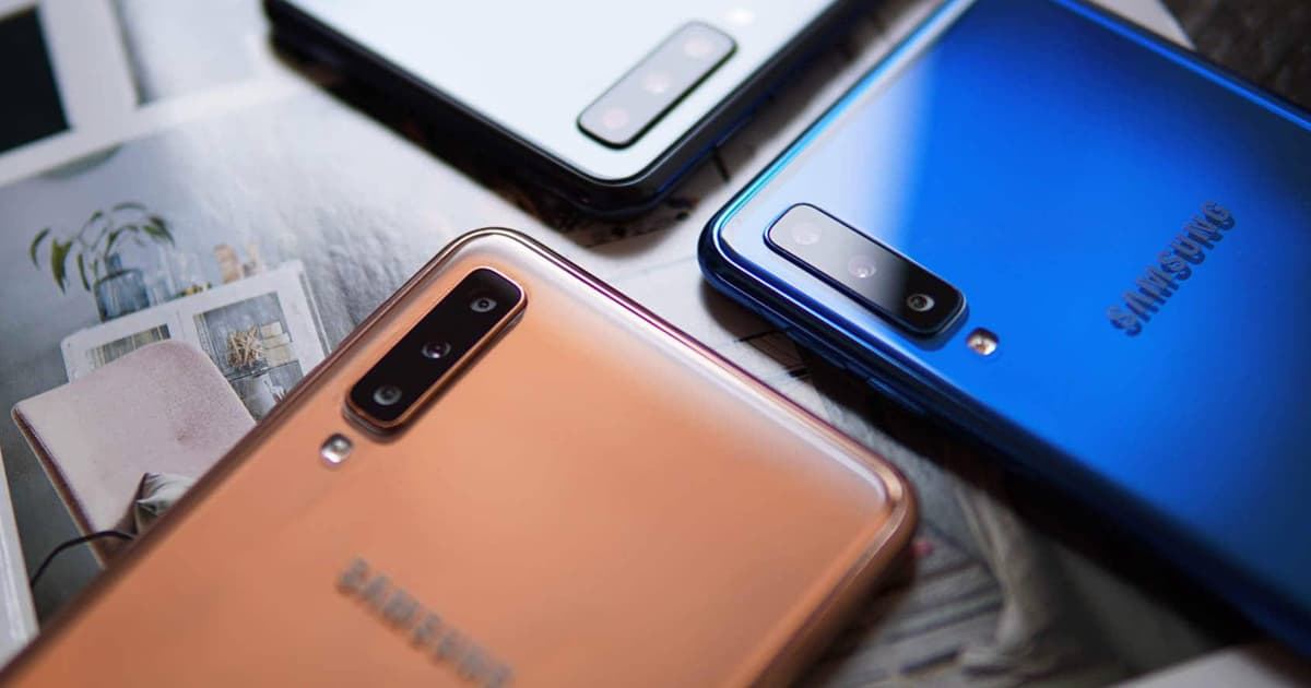 Samsung Galaxy A9 Pro smartphone android Galaxy A8s