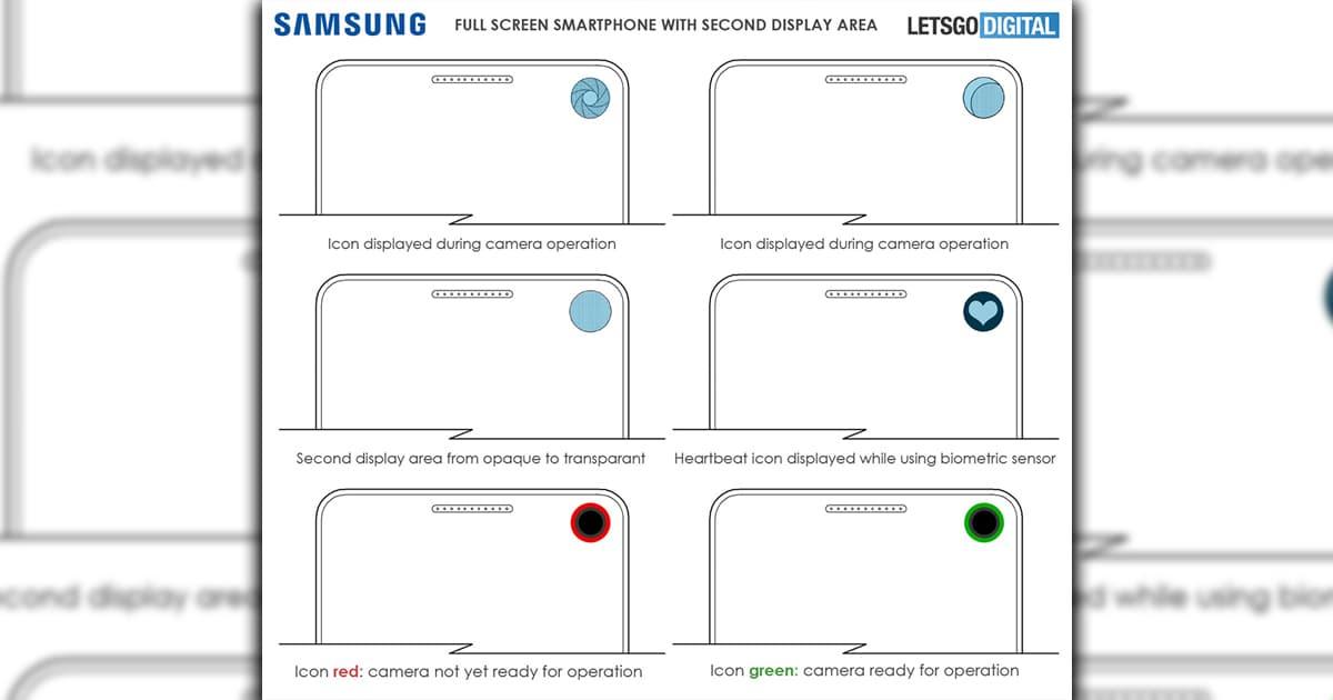 Samsung Galaxy S10 segundo ecrã