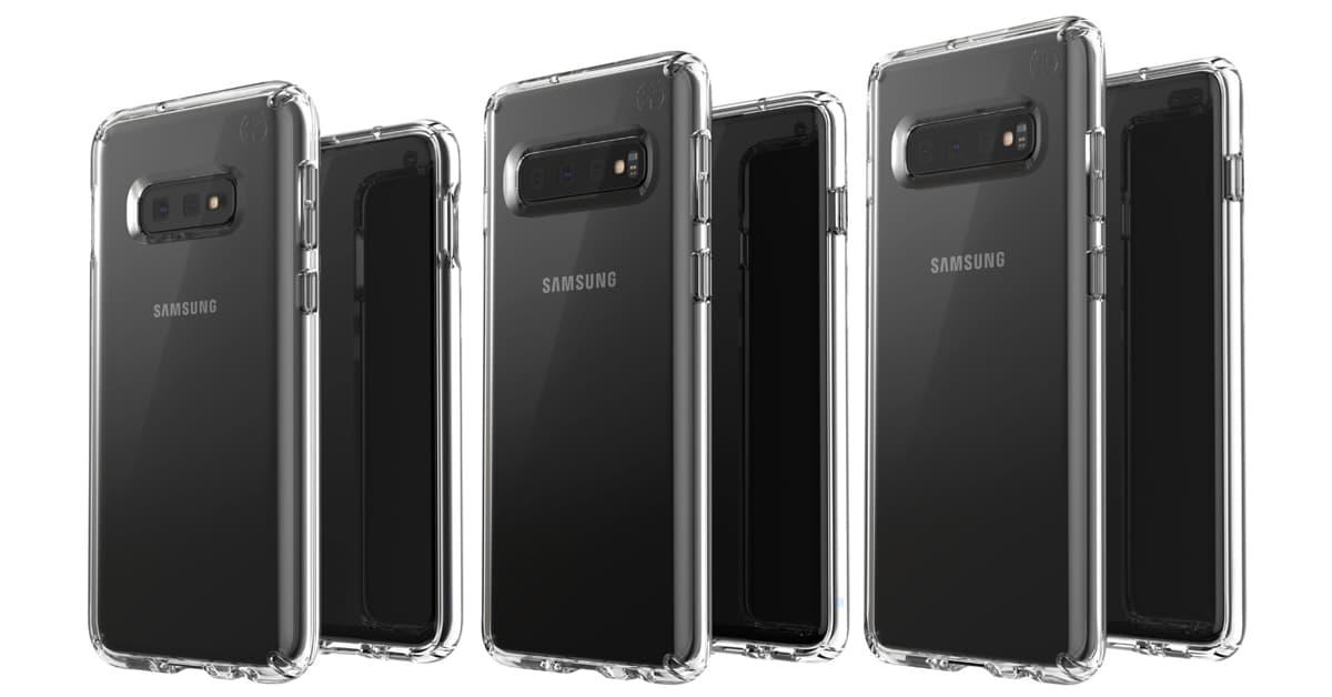 Samsung Galaxy S10 trio Europa