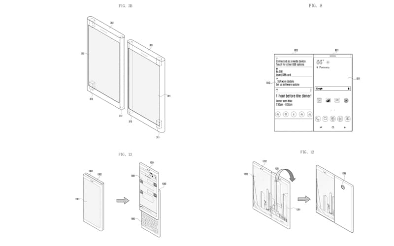 samsung smartphone patente