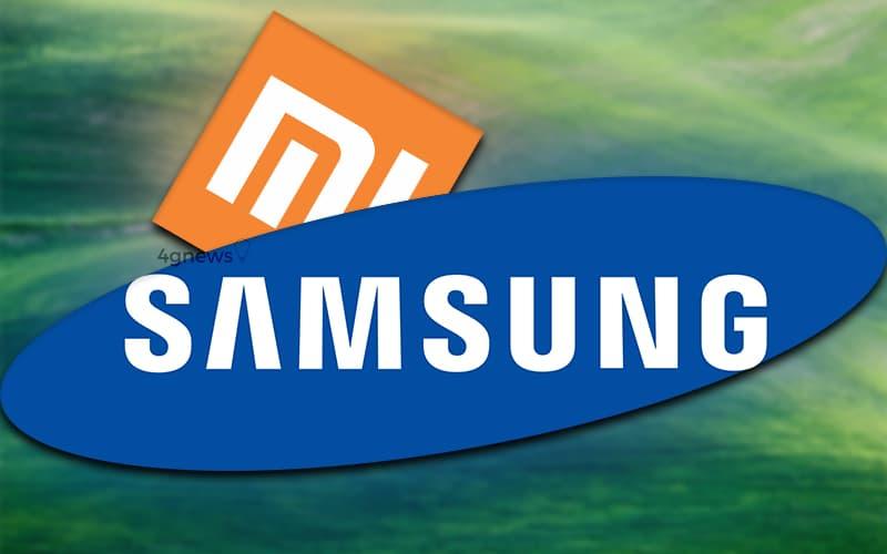 Samsung Xiaomi smartphones índia