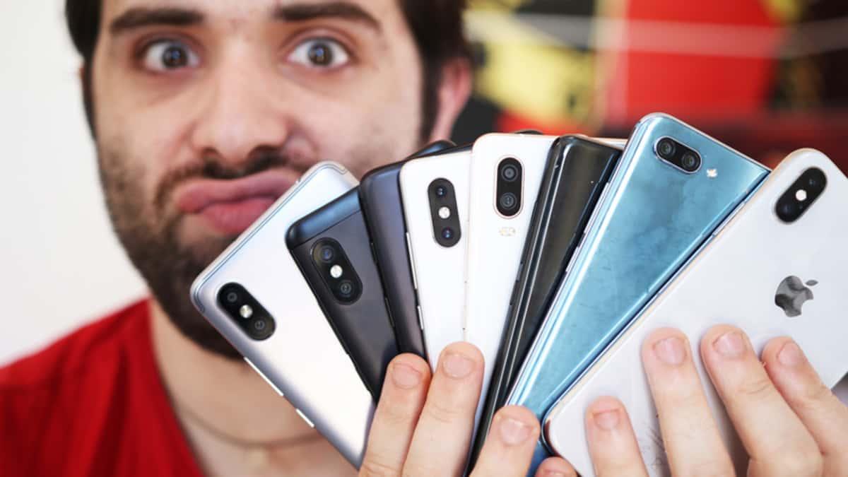 Smartphones topo de gama 4gnews